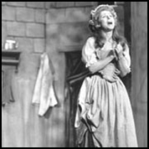 Polly Peachum in the Beggar's Opera
